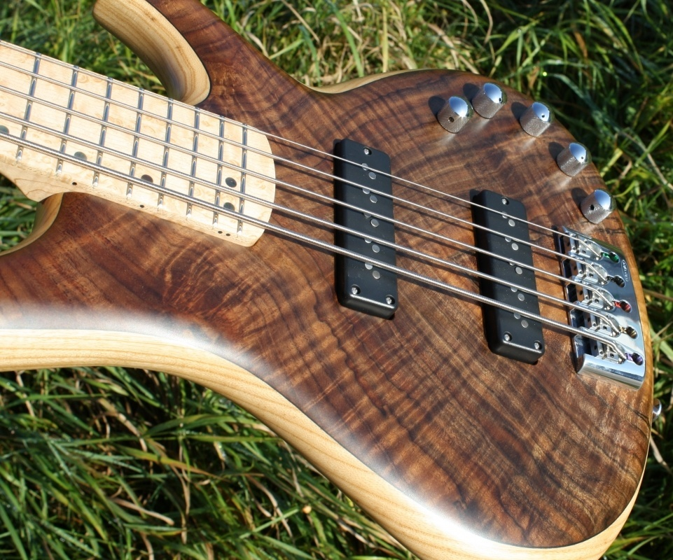 De Gier Origin 5 Flame Walnut