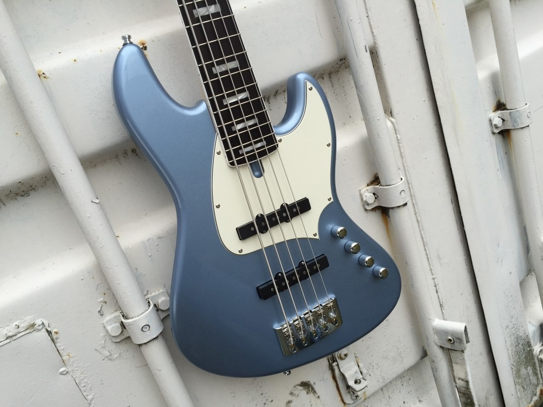 De Gier BeBop 5 Custom Blue Metallic