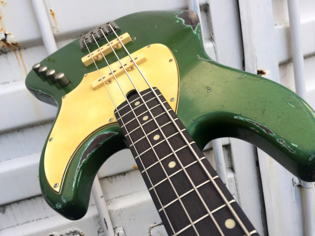 De Gier BeBop 4 custom green