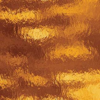 Donker amber fusible glas met structuur