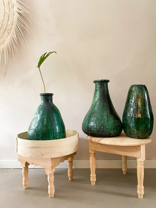 Handmade vases from Tamegroute