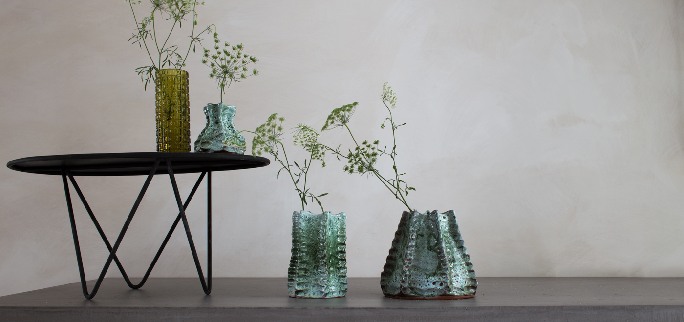 HANDMADE VASES - by LOCAL CRAFTSMEN