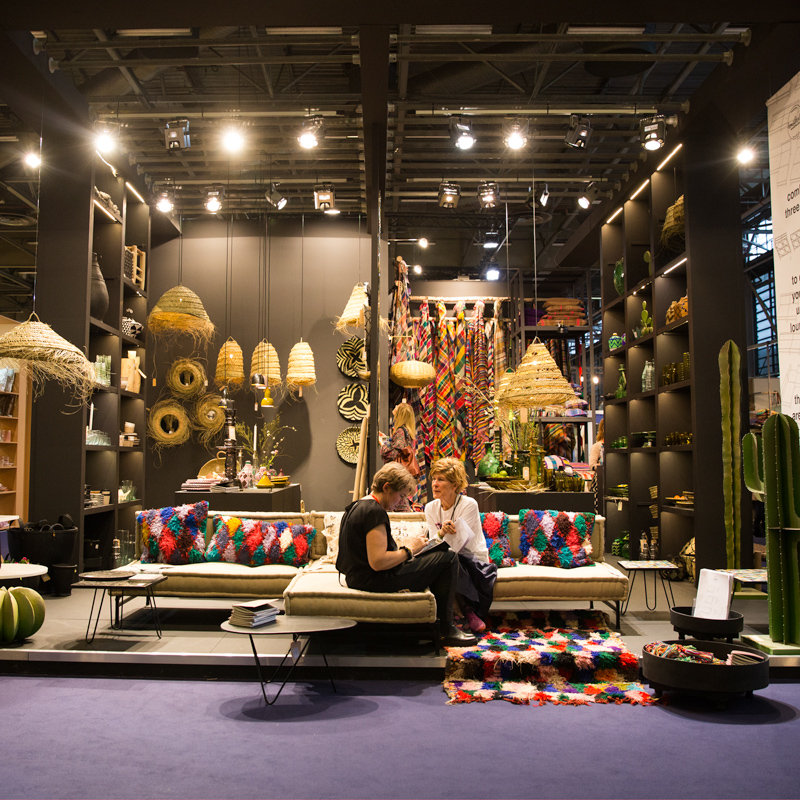<p>Twice a year we visit Maison et Objet, one of the worlds largest wholesale fairs. Its always a pleasure to meet new customers and get inspired by seeing new products. Here a picture of our stand. If you are around next time, come and visit us!</p> <p>Cheers!<br /> The HH-team</p>  -