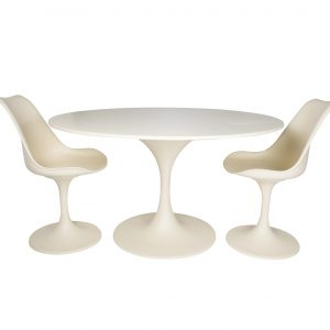 Table polyester  Ø130cm - different colors