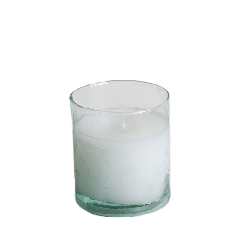 Candle in recycled glass S/M/L