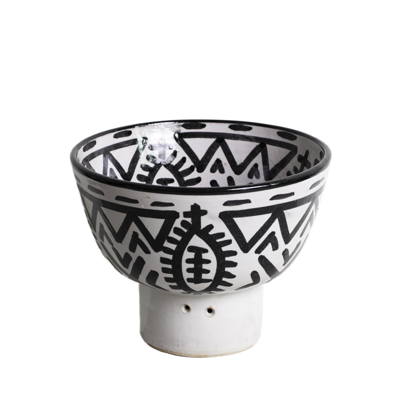 Fez bowl on foot