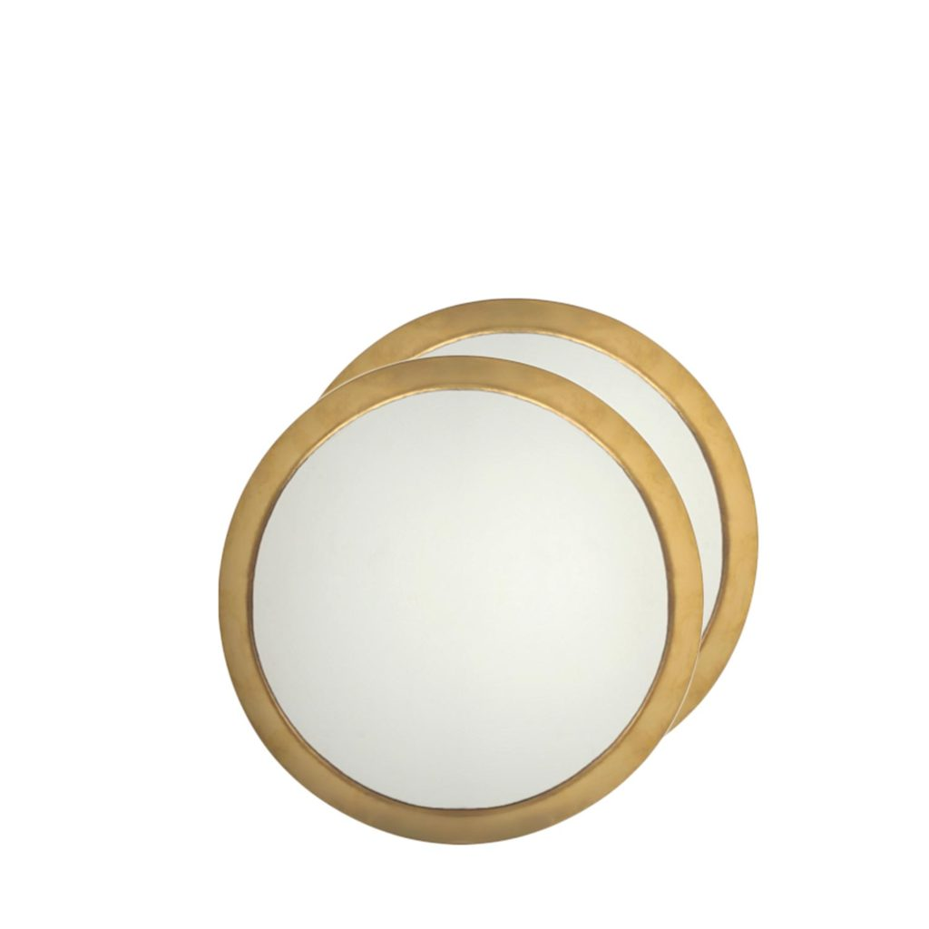 mirror circle XL copper (set of 2 pcs).