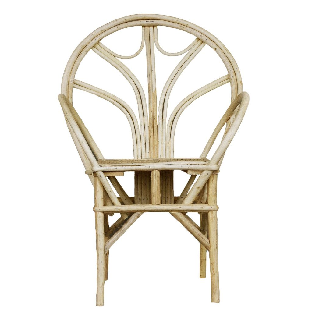Essaouira chair natural 'bow'