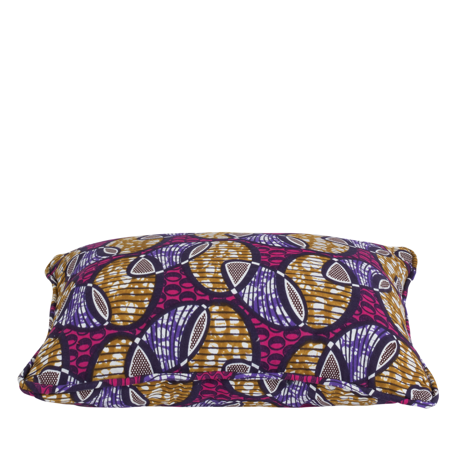 Cushion cover African print wink purple