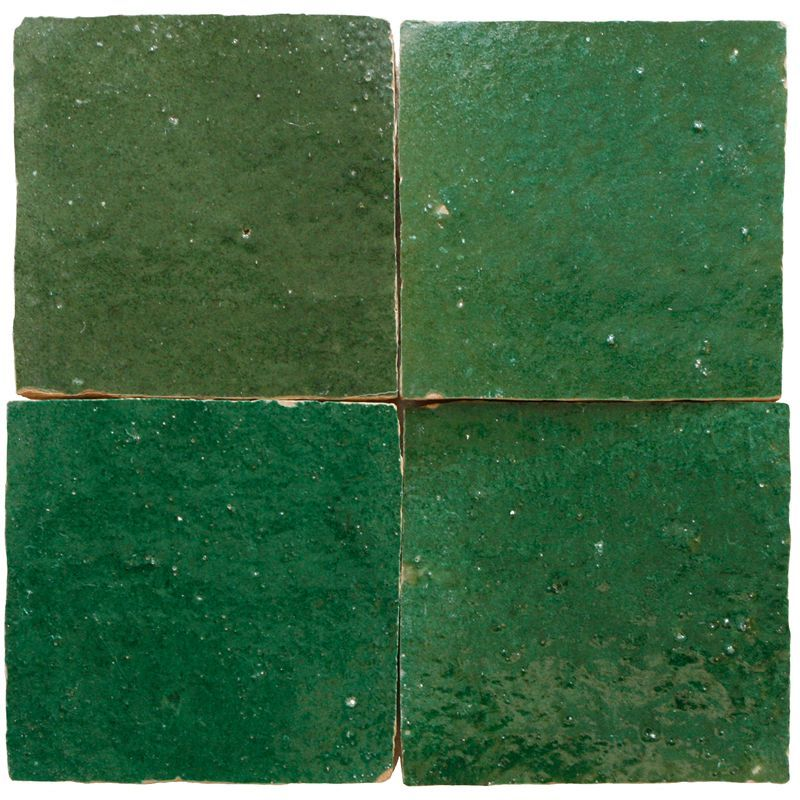 zelliges traditional green (per sqm.)