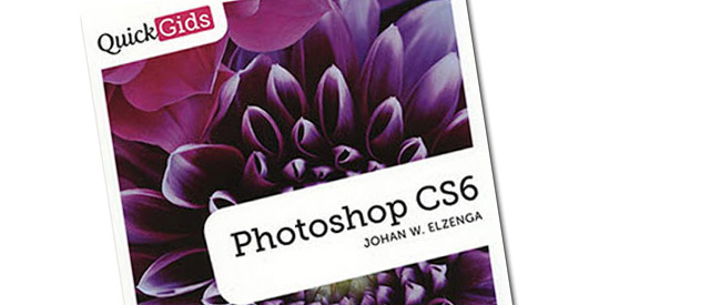 Boek Photoshop CS6 quickgids