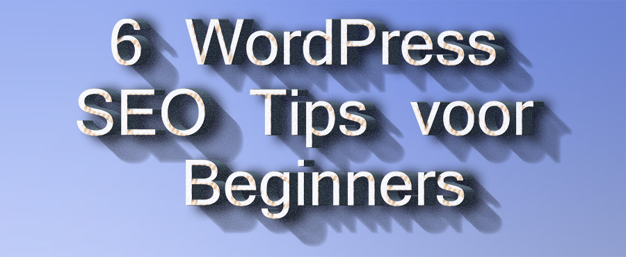 WordPress SEO Tipsv oor Beginners