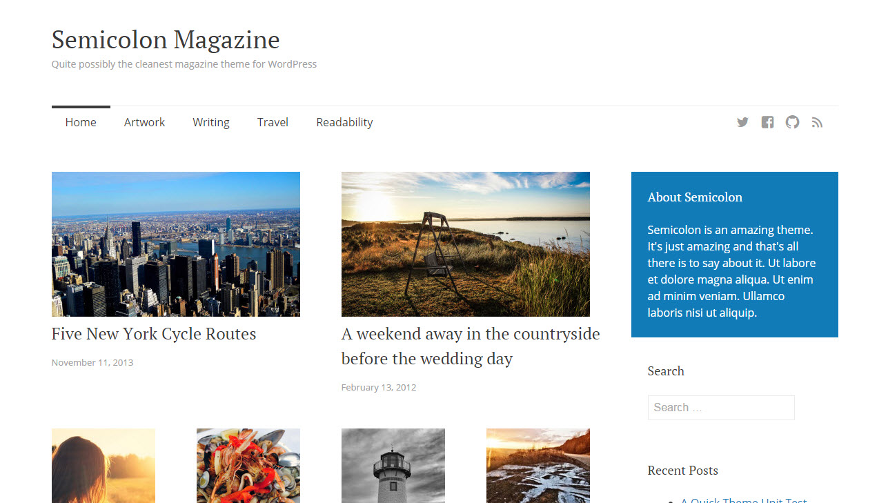 Gratis WordPress magazine theme