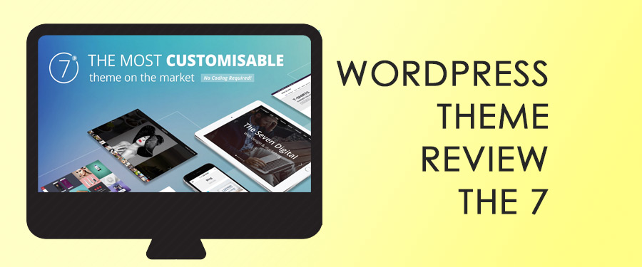 wordpress premium theme review the7