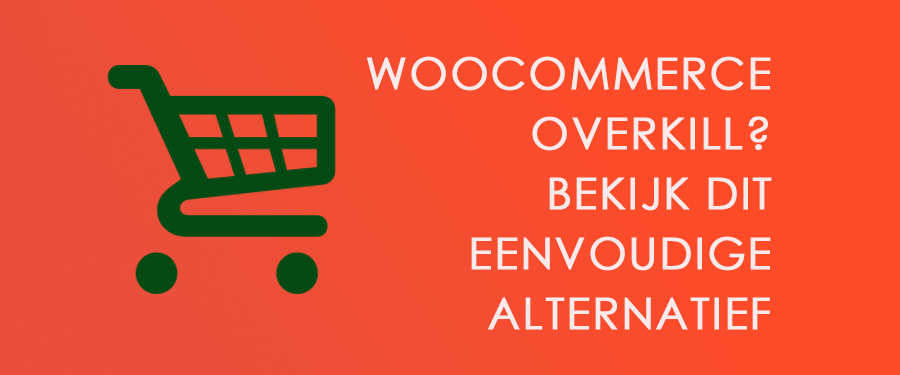 woocommerce alternatief formulier