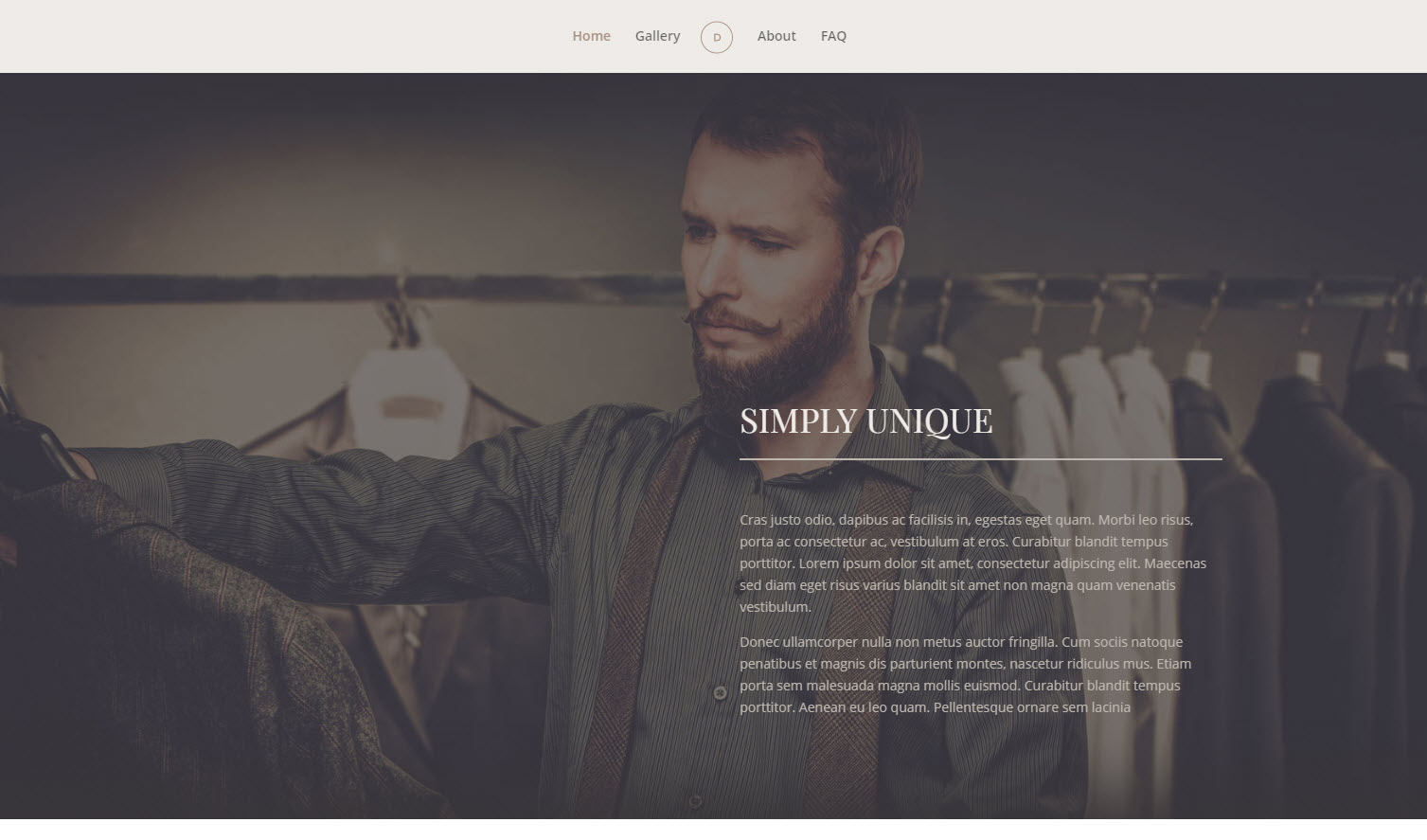 wordpress fotografie theme divi