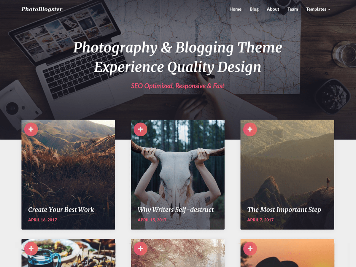 fotoblog wordpress theme