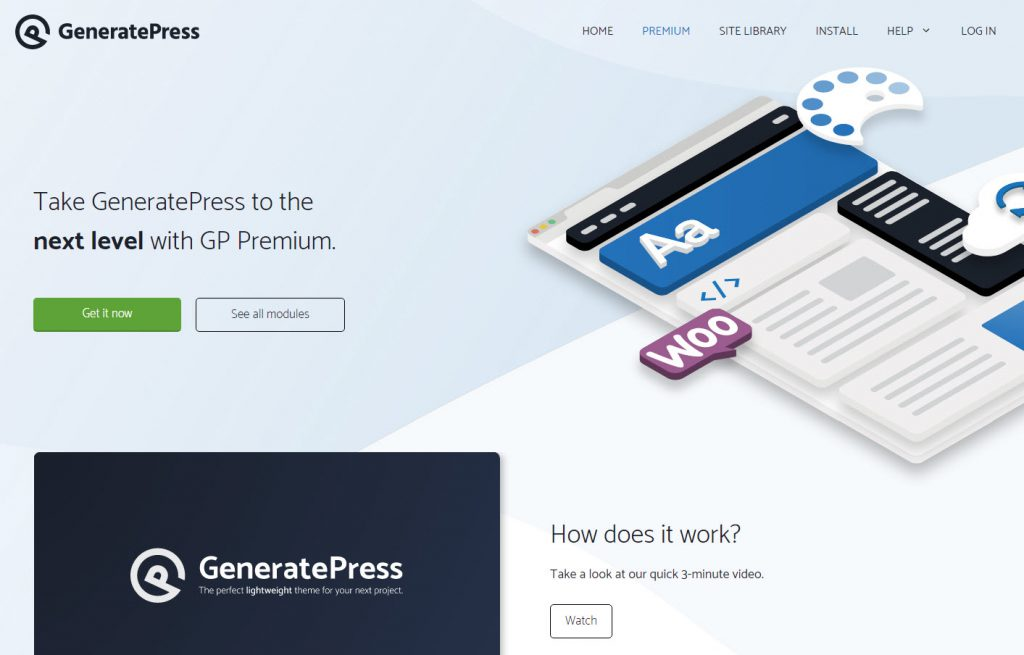 GeneratePress snelste wordpress thema